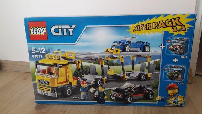 Lego City 66523 Laweta auto