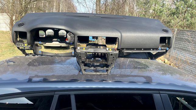 Kokpit , deska rozdzielcza panel przedni , opel vectra C lift polift