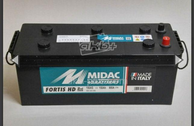 Аккумулятори Червоноград 6СТ-150A MIDAC , Італія 12V, 150Ah і Інші Ah