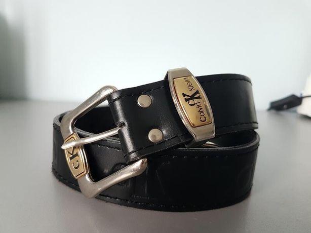 Кожаный пояс ремень calvin klein jeans