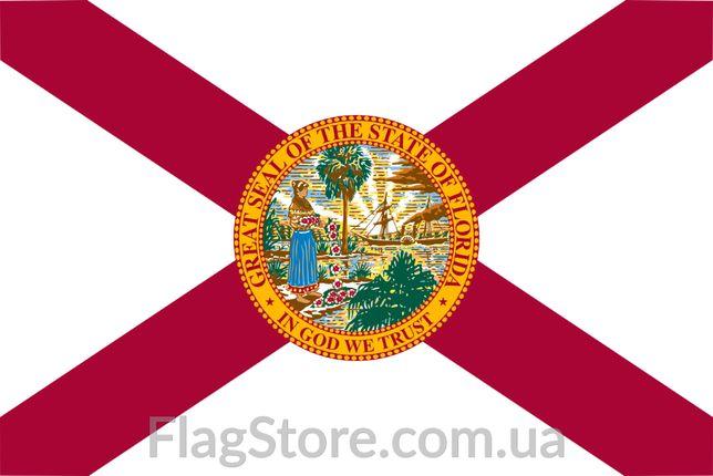 Флаг штатов Флорида, Аризона, Арканзас 150х90 см всі прапори США