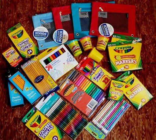 Яркие Восковые мелки,карандаши,фломастеры CRAYOLA Оригинал США!!!