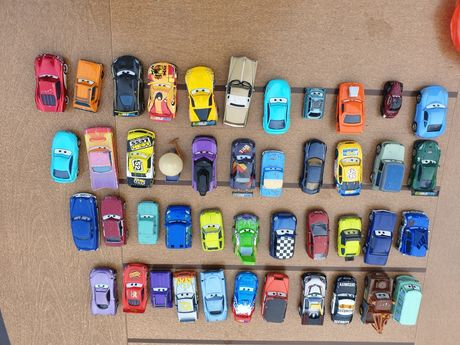 Zygzak McQueen zestaw 44 aut