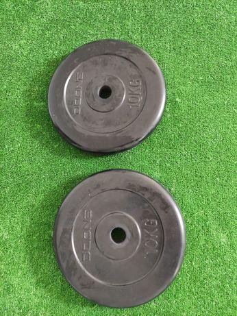 Discos de musculação de  10 KILOS
