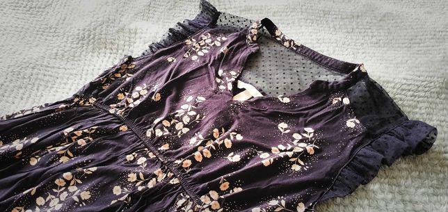 Bluzka ciążowa w kwiaty H&M Mama