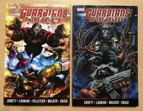 Guardians of the Galaxy: the complete collection 1 & 2