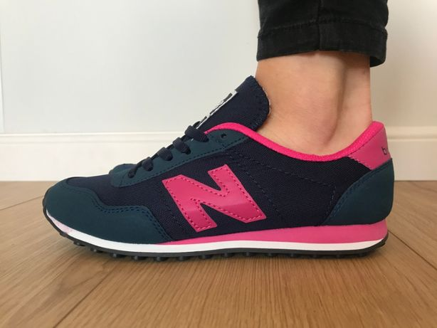 New Balance 410. Rozmiar 38. Granatowe - Różowe. ZAMÓW! NOWE!