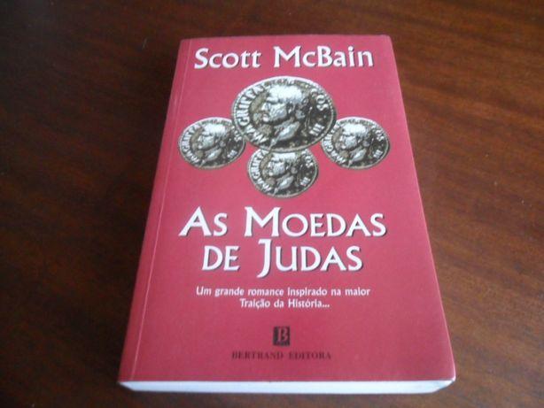 """""""As Moedas de Judas"""" de Scott Mcbain"""