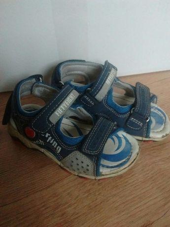 Sandały obuwie na lato chłopięce roz 26