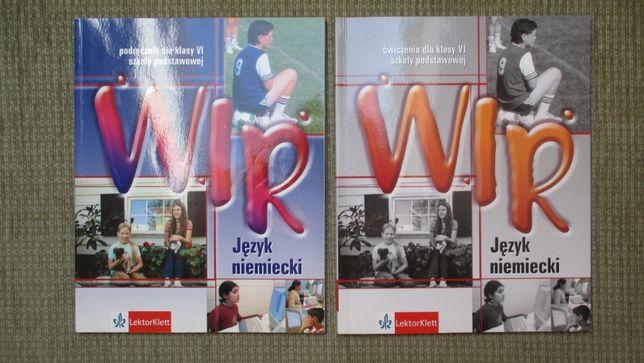 Podręcznik z języka niemieckiego wraz z Ćwiczeniami dla kl. 6