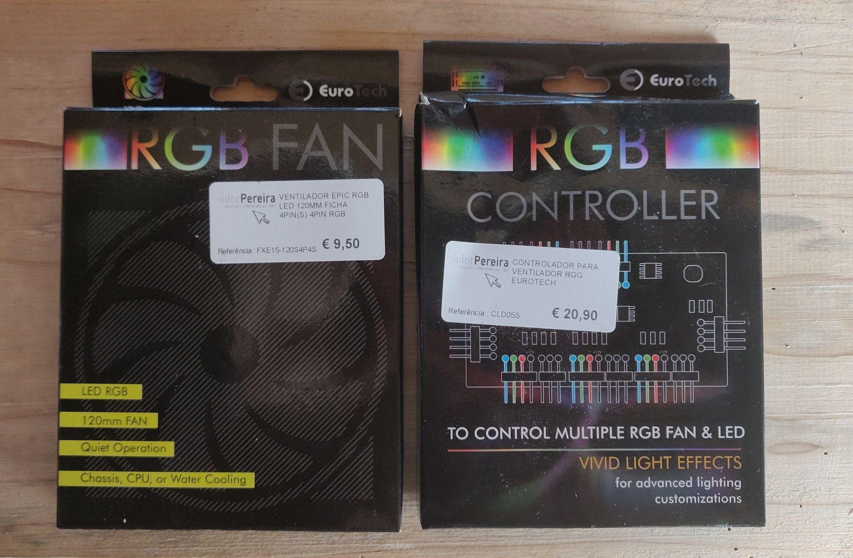 RGB Fan 120MM + RGB controller