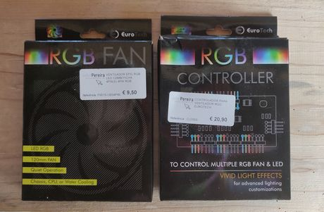 RGB Fan 120MM + RGB controller
