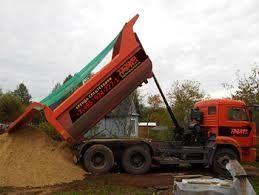 Доставка привезти песок шлак щебень отсев грунт вывоз мусора перегной