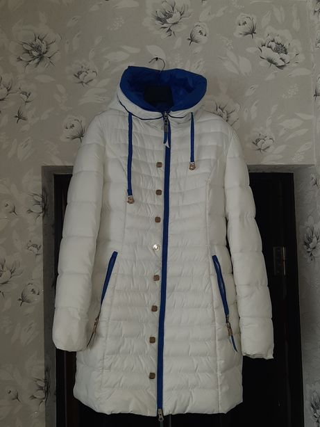 Тёплая удлинённая куртка р.S-M