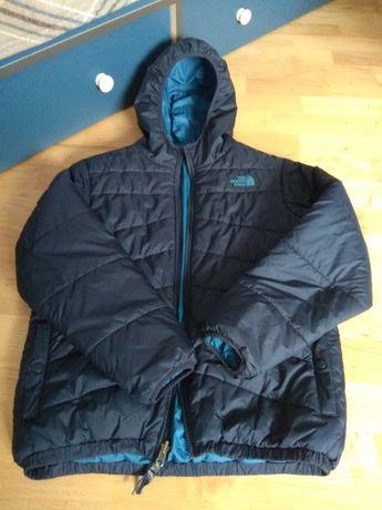Детская подростковая куртка The North Face двусторонняя