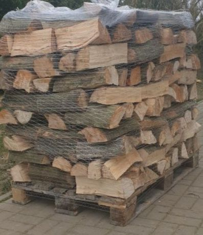 Drewno opałowe  kominkowe  dąb  grab jesion  buk brzoza owocowe