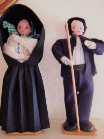 Par de noivos (bonecos) de S Miguel - Açores - Helena Le Velly