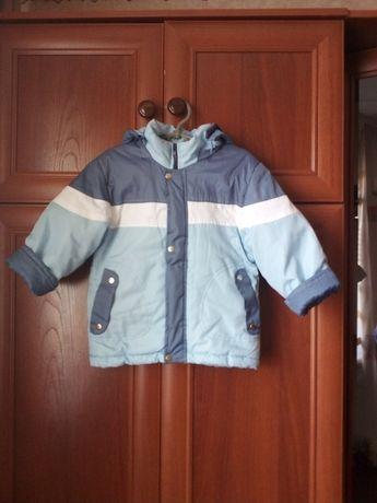 Куртка демісезонна на 3-5 років