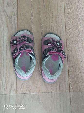 Sandały skórzane 24 MD