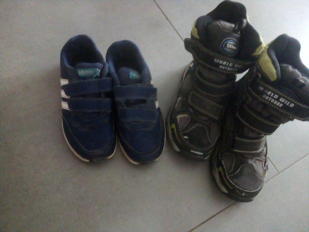 Oddam buty dla chlopca