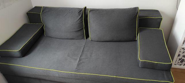 Sofa rozkładana- kolor grafit- OKAZJA!