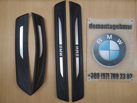 Пороги BMW F10 порожки накладки порогов БМВ Ф10 шрот розборка разборка