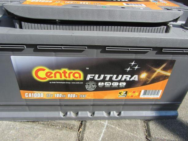 Akumulator Centra Futura 100Ah 900A P+ 12V CA1000
