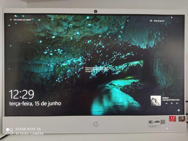 HP 22-c1000np AIO - AMD Ryzen - RAM 16GB - SSD 256GB + 1 TB HDD