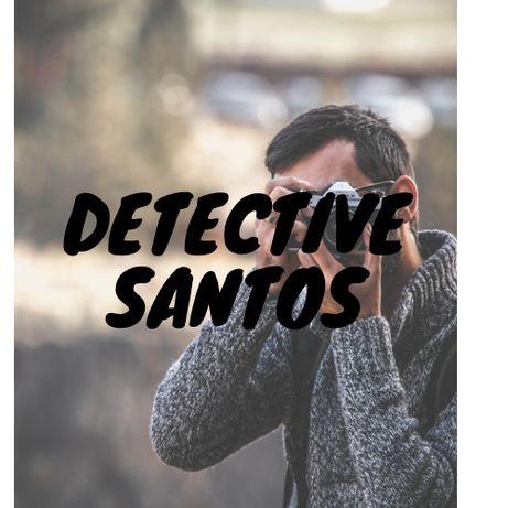 Detective Santos especialista em casos de Infidelidades e Matrimoniais