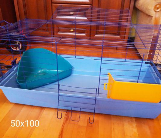 Klatka dla zwierzaka 100x50