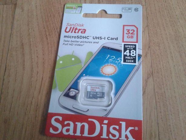 Karta pamięci. SANDISK Ultra 32 GB. Micro SD. Sprzedam/ zamienię