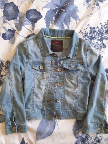 Jaqueta de ganga para menina, marca Catimini