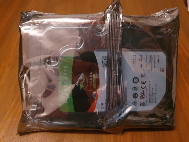 """Dysk Seagate 2TB 7200obr. SSHD (HDD/SSD) FireCuda 3.5"""" Nowy"""
