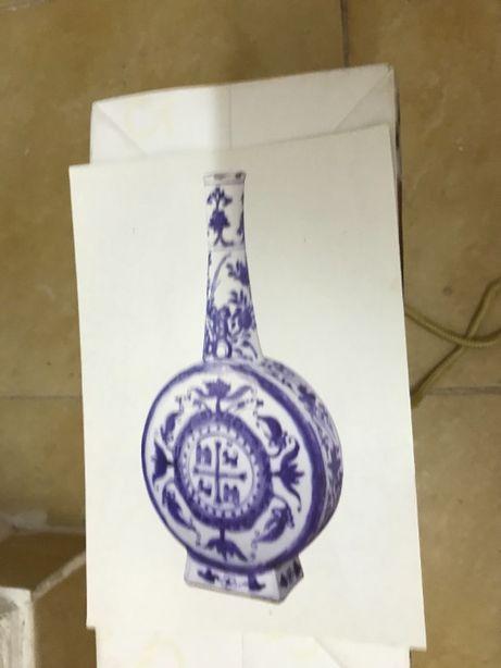 Postal antigo tipo azulejo