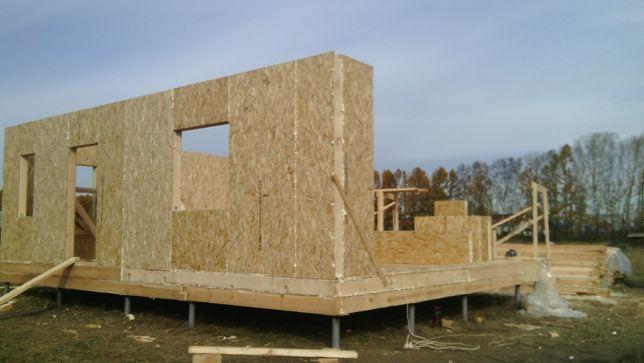 Panele SIP 12cm ściany na dom bez pozwolenia domek letniskowy całorocz