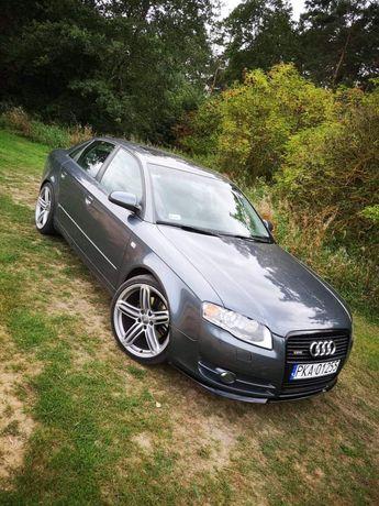 Audi A4 b7 s-line 1.8t quattro LPG Bogato wyposażone