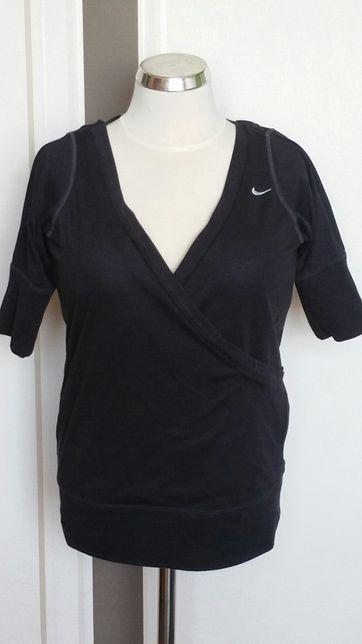 Nike S bluzeczka, przód i tył zakładany, rękaw do łokcia.