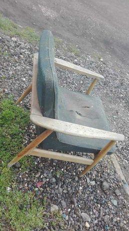 Fotel prl typ 300-192 kędziorek chierowski puchała lisek