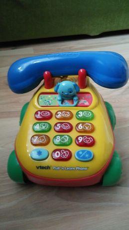 Vtech jeżdżący , grający telefon  Paka zabawek