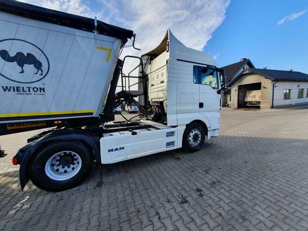 Likwidacja Transportu Wywrotka Naczepa Bodex Wielton 38m3 2012 MAN TGX