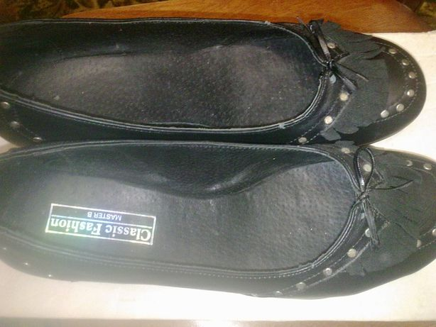 Туфли женские кожанные размер 38 (25 см)