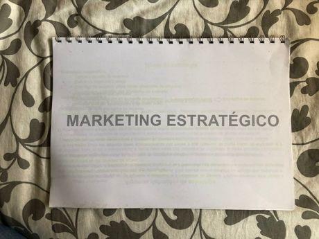 Apontamentos de Marketing Estratégico