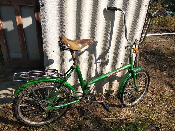 Продам рабочий велосипед Kontur взрослый и подростковый складной