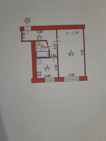 Продаж 1кімнатної квартири р-н вокзалу