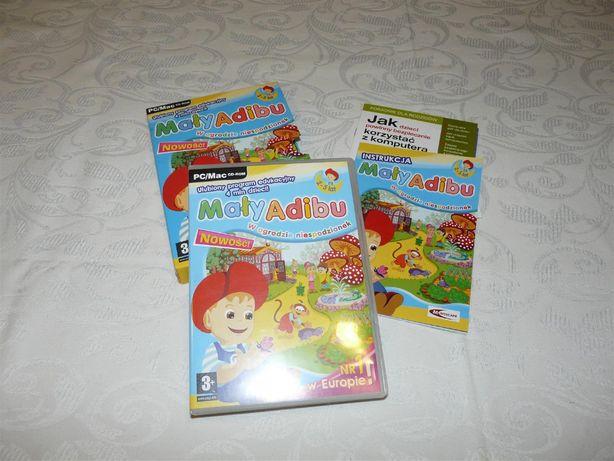 Adibu gra edukacyjna na komputer 2-5 lat
