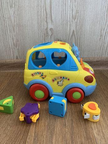 Автошка музыкальная машинка