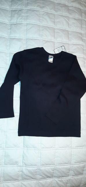 Nowe koszulki z długim rękawem C&A 110 cm