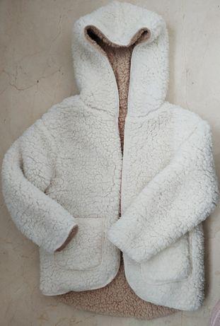 Zara kids kożuch, kurtka, bluza r. 104 - 110 Nowa
