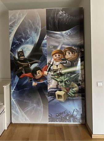 Drzwi do szafy Pax Ikea 150x236 cm z nadrukiem Lego