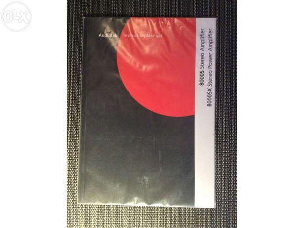 Manual de instruções de Audiolab 8000S